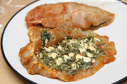 Stuffed Chicken Breast with stuffing